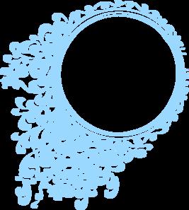 Robin Blue Circle Frame Clip Art Clip Art Circle Frames Svg Shapes