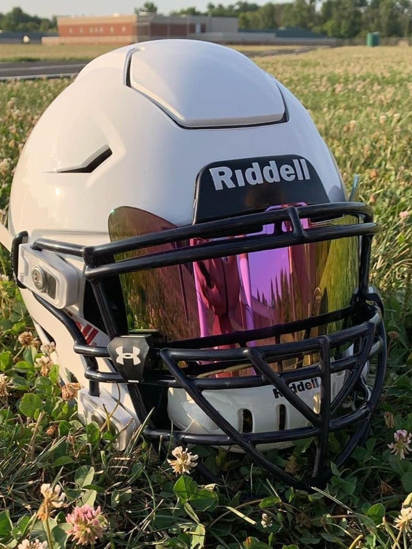 Custom white speedflex in 2020 football helmets custom