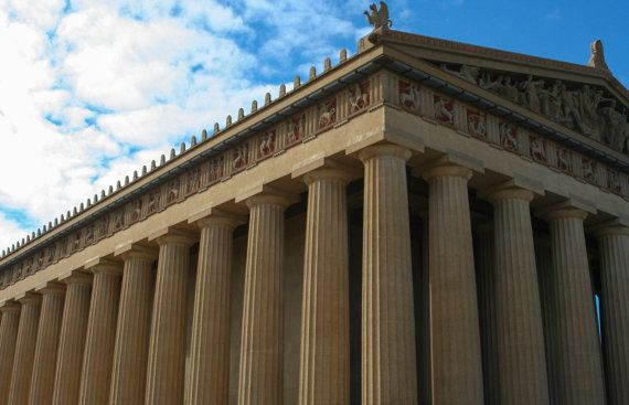 Canvas Print 16x20 Parthenon Museum by FrancesMayoPhotos on Etsy, $70.00