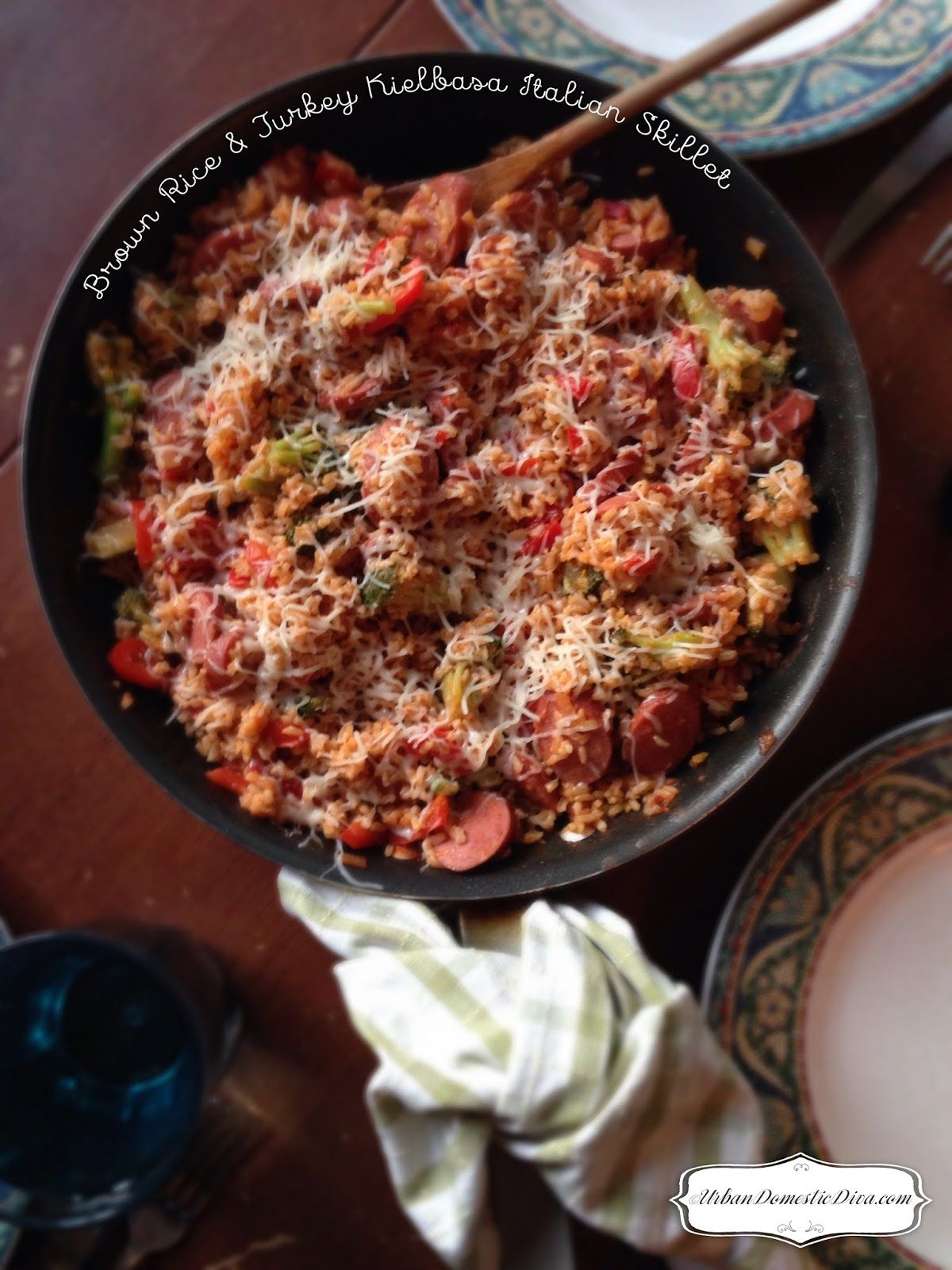 Recipe Brown Rice And Turkey Kielbasa Italian Skillet Sausage Recipes For Dinner Kielbasa