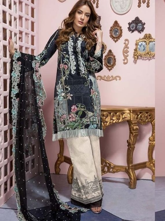 953e445692 FIRDOUS EID EXCLUSIVE LAWN COLLECTION 2019(19273) - Umar Poshak Mehal