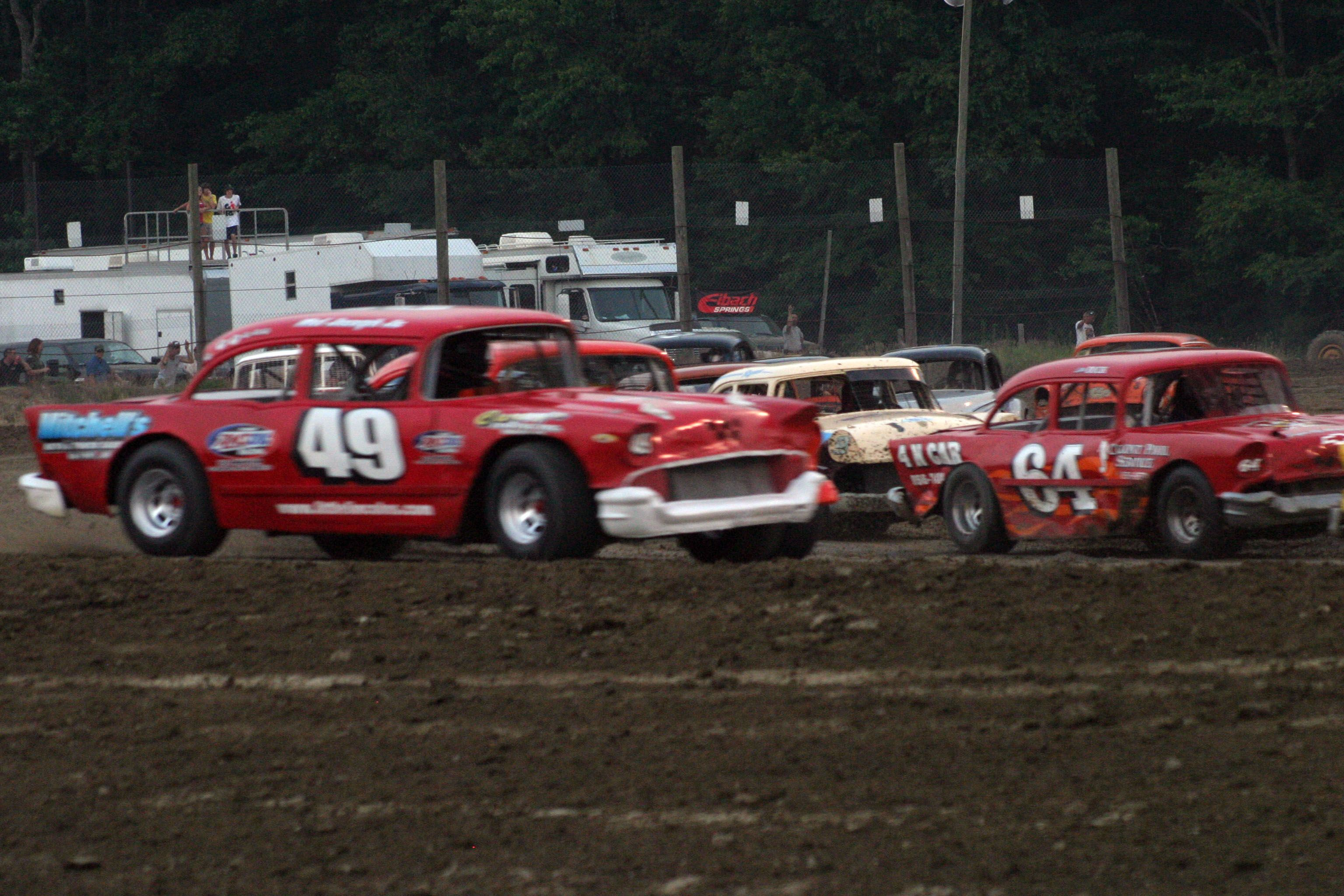 Dirt Track Race Cars: Dirt Track Racing, Old Race