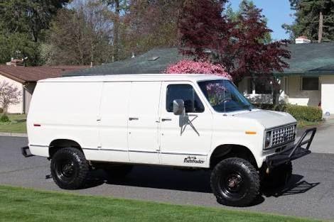 Ford Van 1991 Google 検索 Ford Van Vans Lifted Van