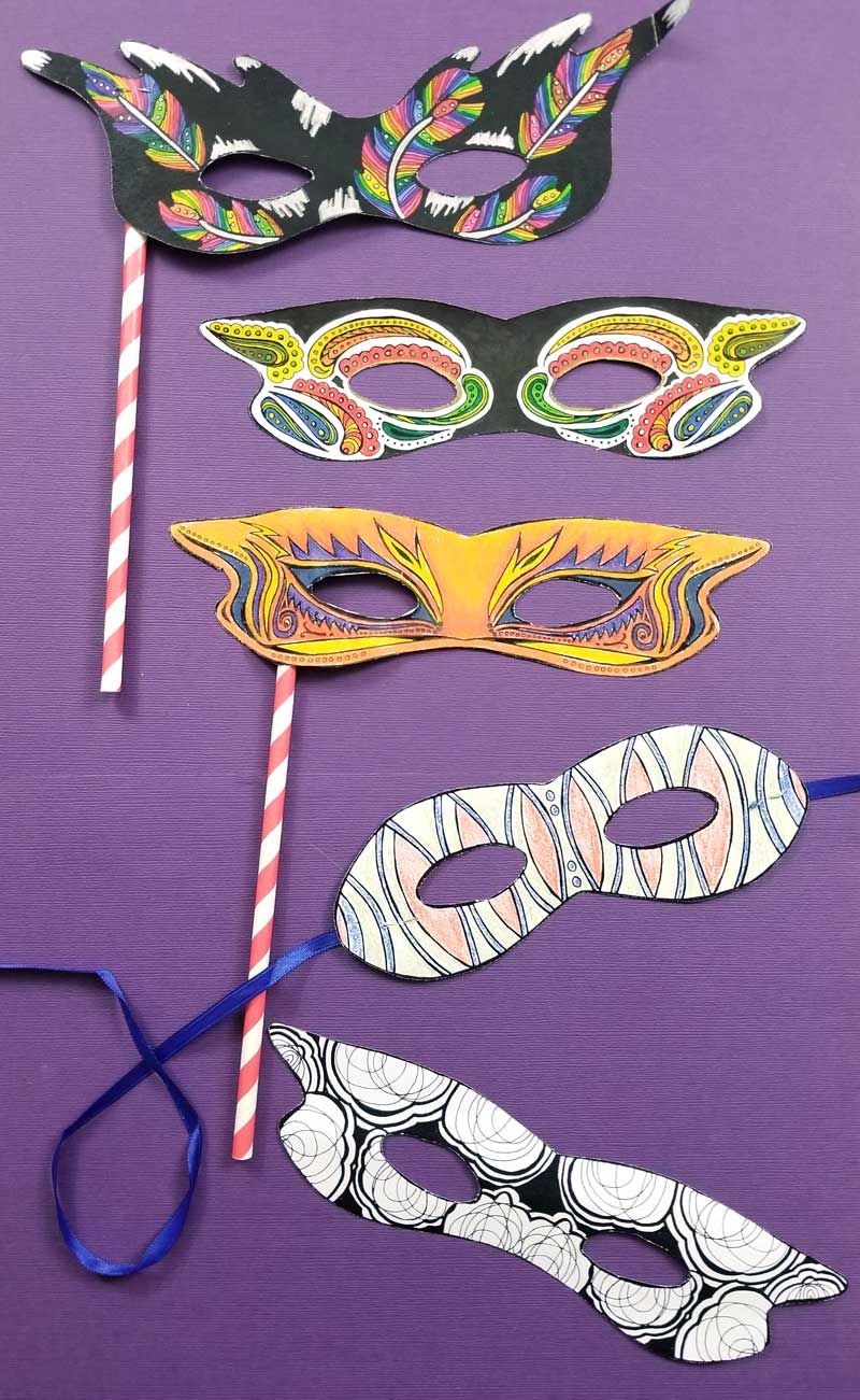 44++ Purim mask coloring pages information