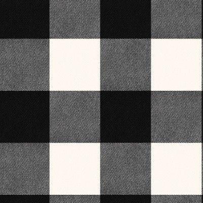 Buffalo Plaid Peel & Stick Wallpaper Black - Threshold