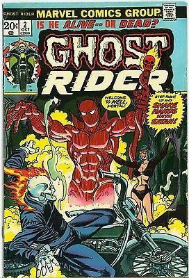 #Popular - Marvel; Gary Friedrich; Jim Mooney / Ghost Rider 1973 #2 Comics 1st ed #163957  http://dlvr.it/NBpmhK - http://Ebaypic.twitter.com/M8o8KxRfxN
