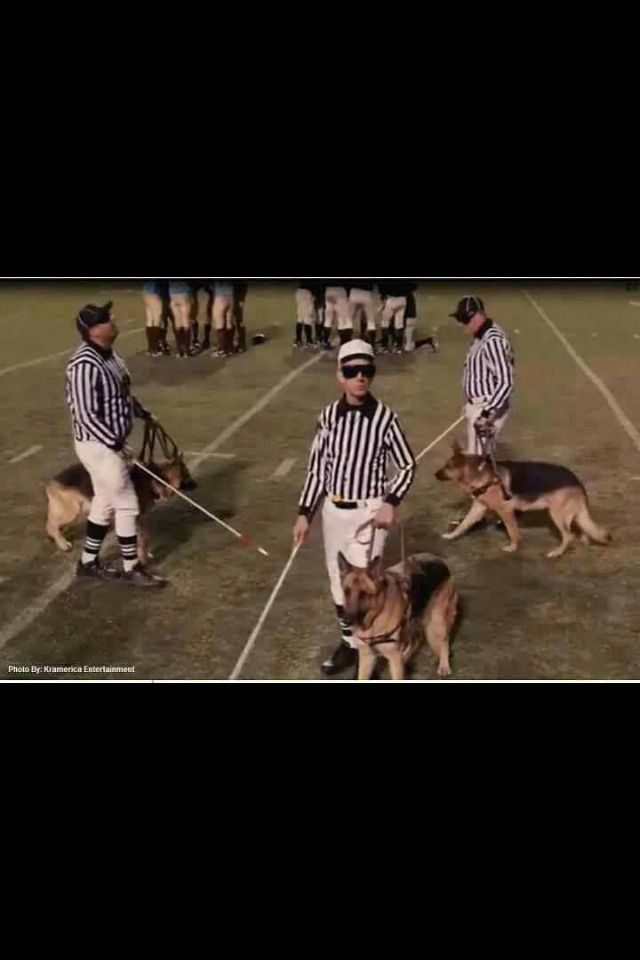 Ref are you blind???? Yes, I've heard that hollered a few times in the past, and now too!!! LOL