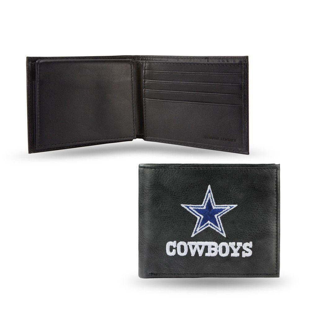 Dallas Cowboys Black Bi-Fold Wallet for Men