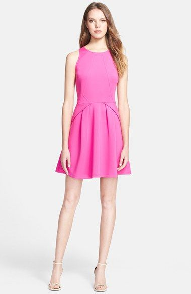a9b7aa4c4 Free shipping and returns on Ted Baker London Stretch Skater Dress at  Nordstrom.com. Linear seaming sculpts the bodice of a stretch-woven sleeveless  dress ...