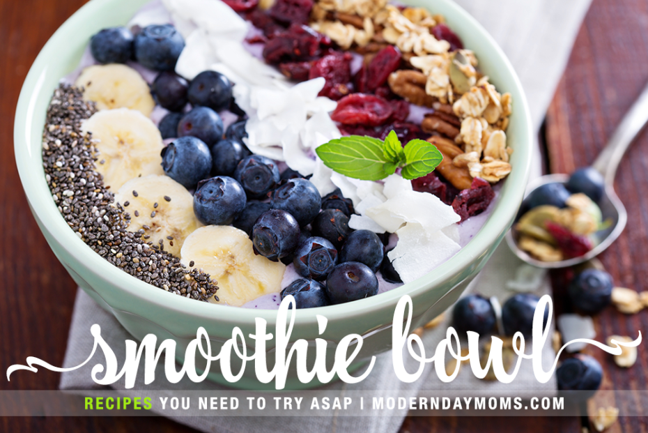 4 Smoothie Bowl Recipes You Need To Try ASAP