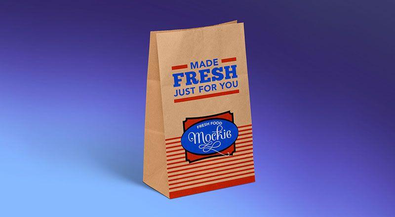 Download Free Kraft Paper Take Away Food Packaging Mockup Psd Modern Packaging Design Packaging Mockup Modern Packaging