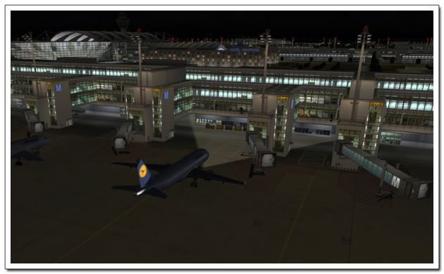 FSX Download Mega Airport Munich Free | Add-ons FSX For Free