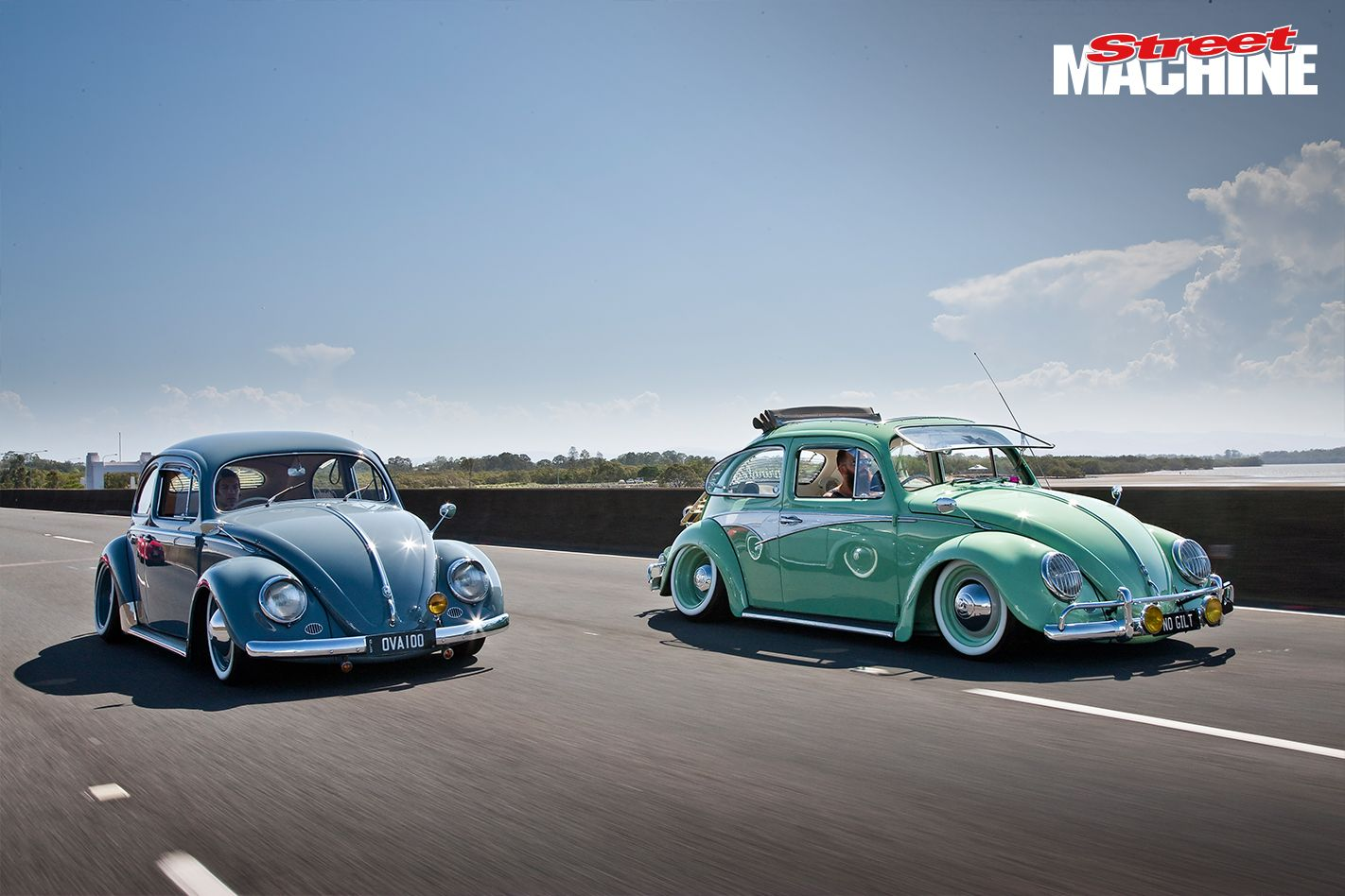 Tiny house bugs car pictures car tuning - 1956 Restored Blue And A More Modified Green 1967 Pair Of Bugs The Restoration Project