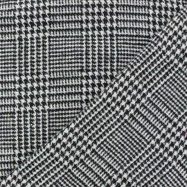 tissu lainage prince de galle noir x 10cm couture. Black Bedroom Furniture Sets. Home Design Ideas