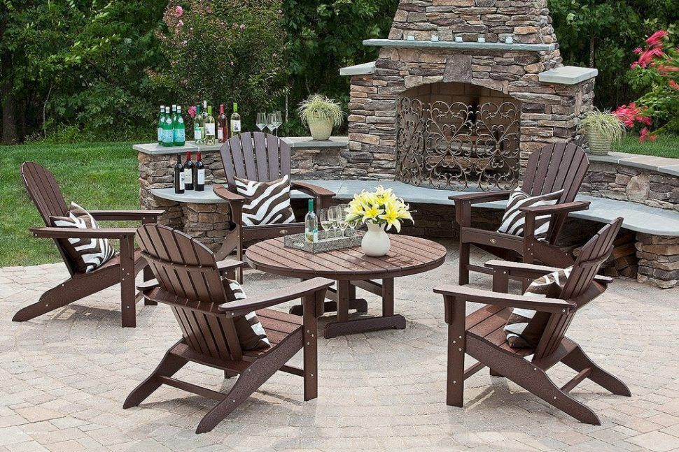 Trex Outdoor Furniture, No Cushion Outdoor Furniture