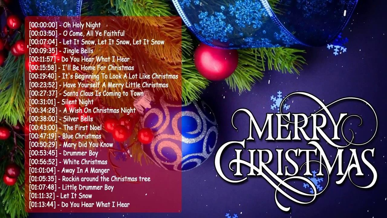 Top 100 Traditional Christmas Songs Ever Best Classic Christmas Songs 2018 Collectio Traditional Christmas Songs Classic Christmas Songs Merry Christmas Song
