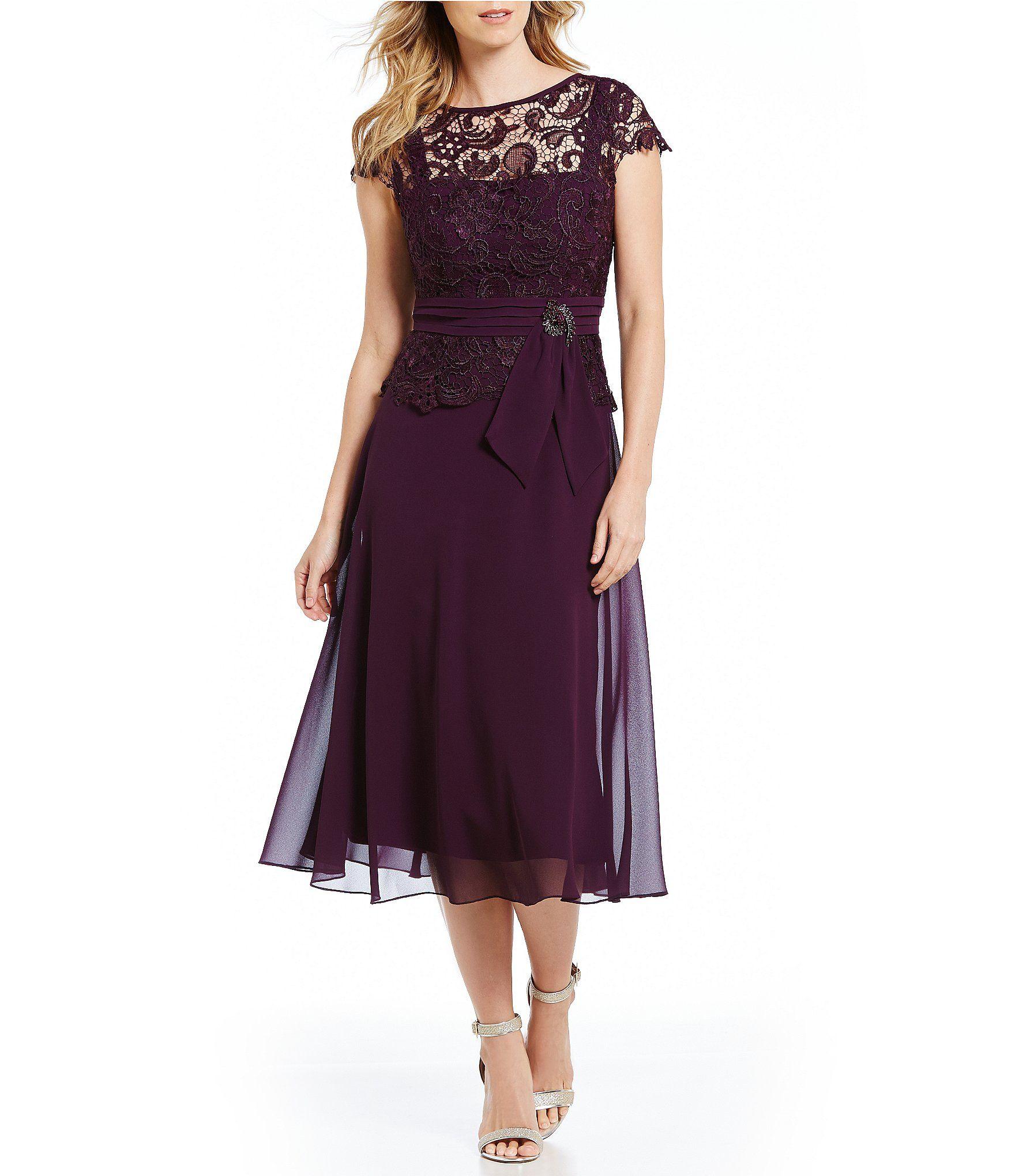 Emma Street Illusion Lace Mock 2-Piece Dress   The bride ...