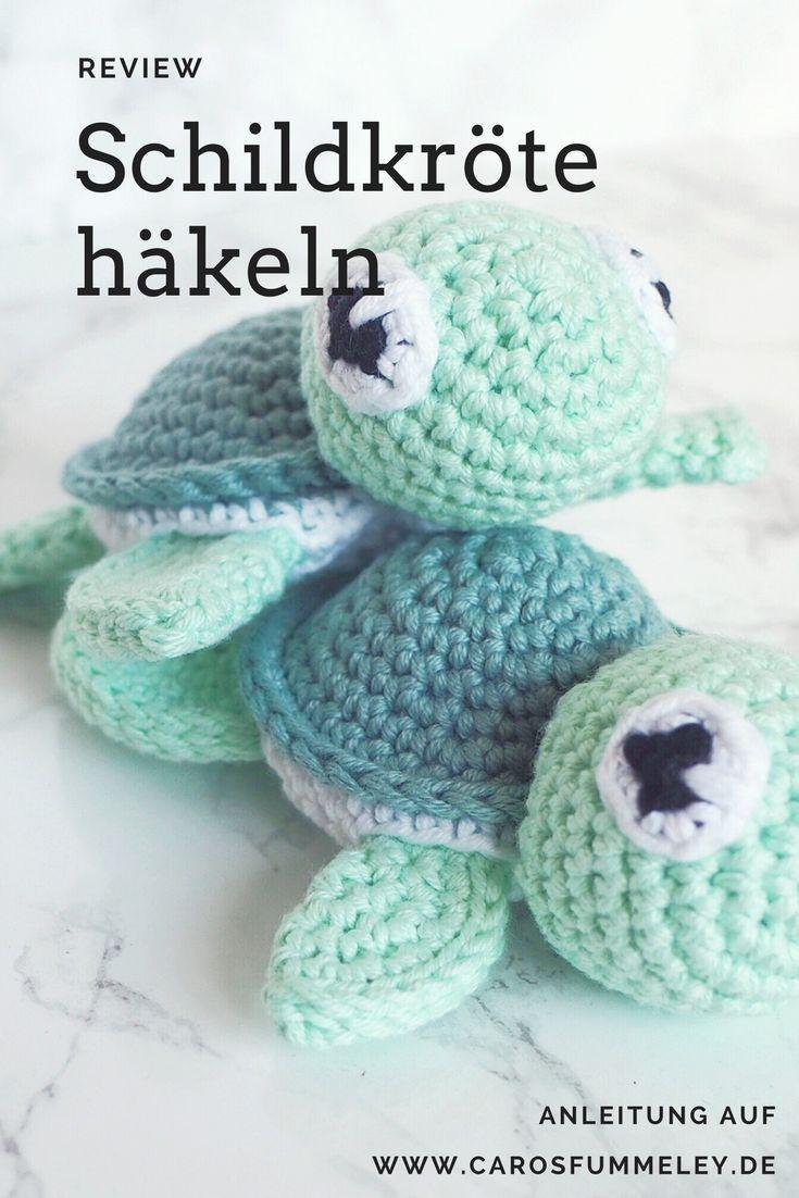 Amigurumi Schildkröte häkeln | Pinterest | Schildkröte häkeln ...