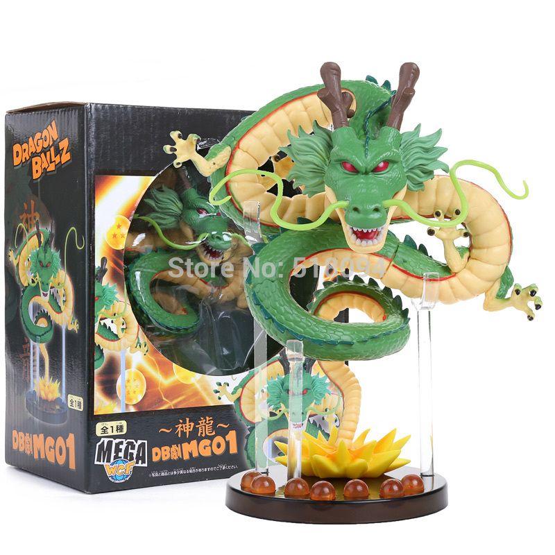 New Collectible Dragon Ball Z Action Figures Shenron Anime Dragon With Mountain