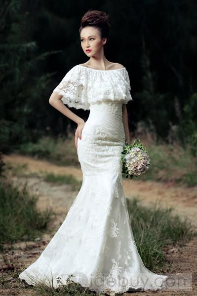 Amazing Mermaid Court Train Lace Wedding Dress Tidebuy I Quite Like This