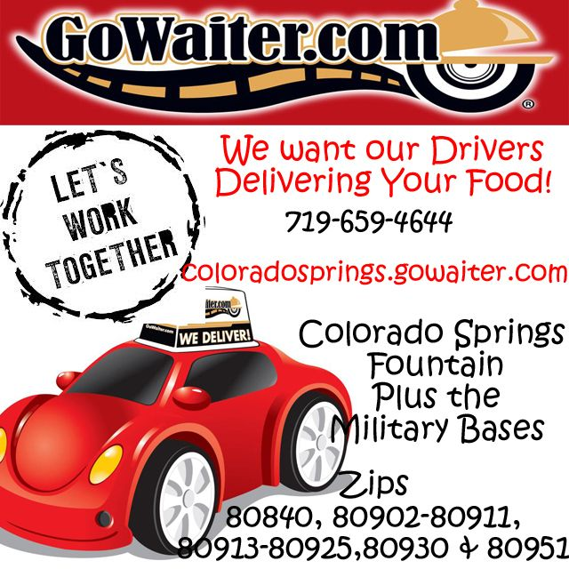We Want To Deliver Your Favorite Restaurants You Help Us Spread The Word Pinterest Marketingcolorado Springsthe