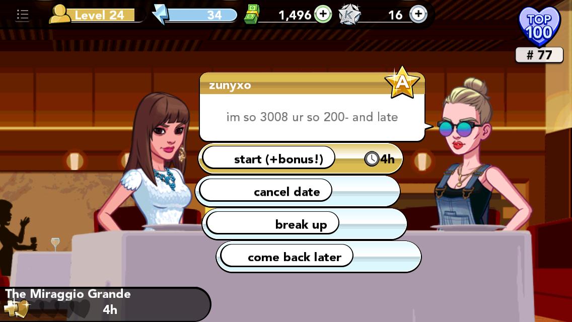 Bonus stars kim kardashian game dating