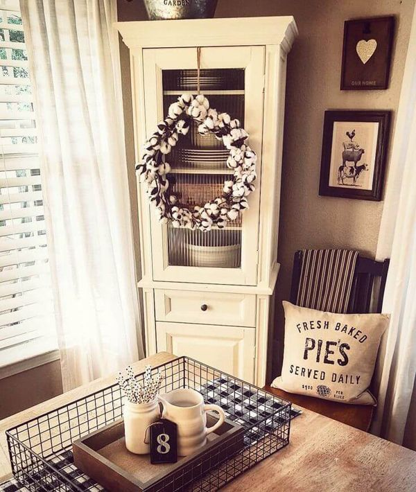 Farmhousediningroomcabinetfurniture  Decorating  Pinterest Fair Cabinets In Dining Room Decorating Inspiration