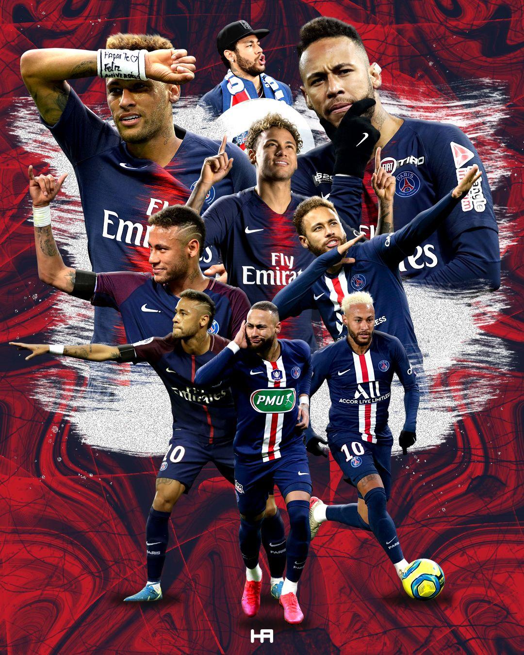 Neymar Paris Saint Germain In 2020 Neymar Football Football Poster Neymar Jr Wallpapers