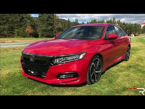 2018 Honda Accord Sport 2 0t The Type R Of Family Sedans Youtube 2018 Honda Accord Accord Sport Honda Accord Sport