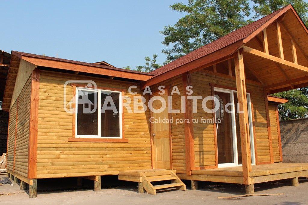 Modelos de casas prefabricadas de madera nativa casas arbolito caba as y domos pinterest - Casas prefabricadas calidad ...