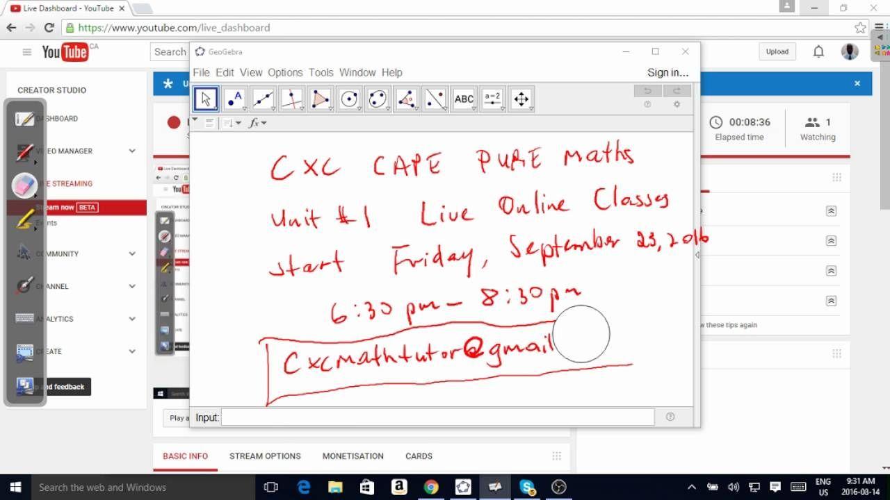 CXC Basic Mathematics