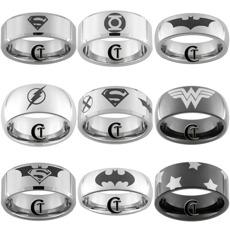 for intended wedding rings handmade universe dc crowns bandcicmil superhero