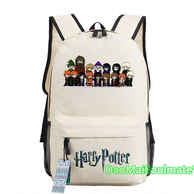 Harry Potter Boy School Bag Anime Backpacks Children Book Shoulder Bags  Teenage Rucksack Students Girl Backpack Mochila Escolar 0ce83c31c468e