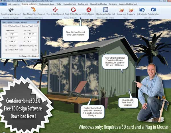 How to build amazing shipping container homes software for Container design software