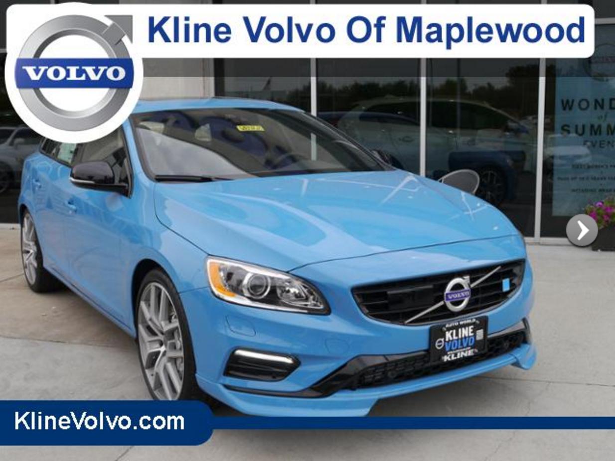 For sale 2016 volvo v60 t6 polestar wagon rebel blue exterior