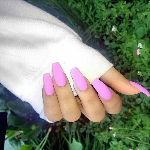 Squoval Silvers: Nails, Matte Nails, Get Nails