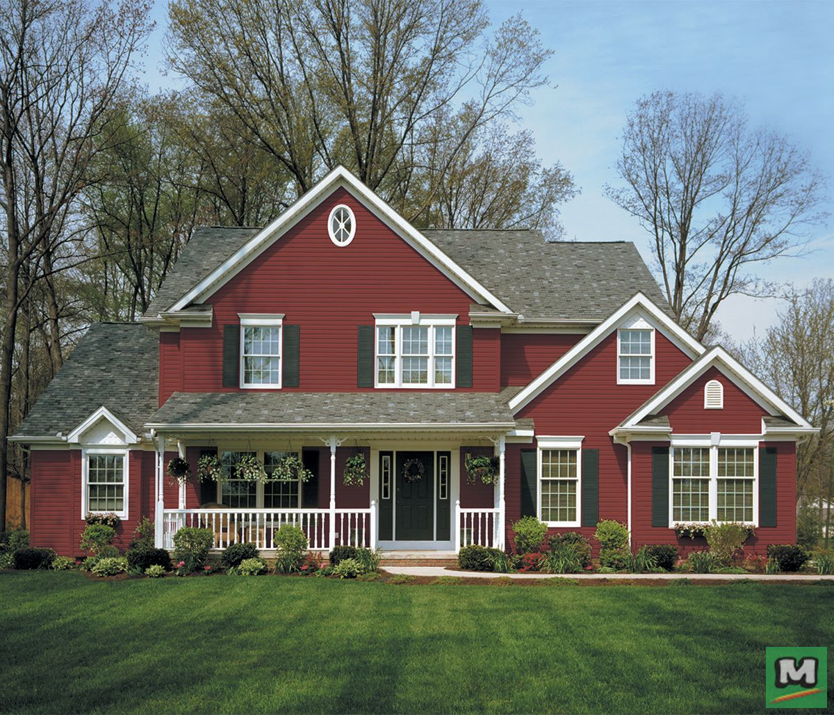 Timbercrest Plus Colorfast Vinyl Siding Is As Durable As It Is Beautiful It Has An Authentic Wood Appearance With Deep S House Styles Building A House House