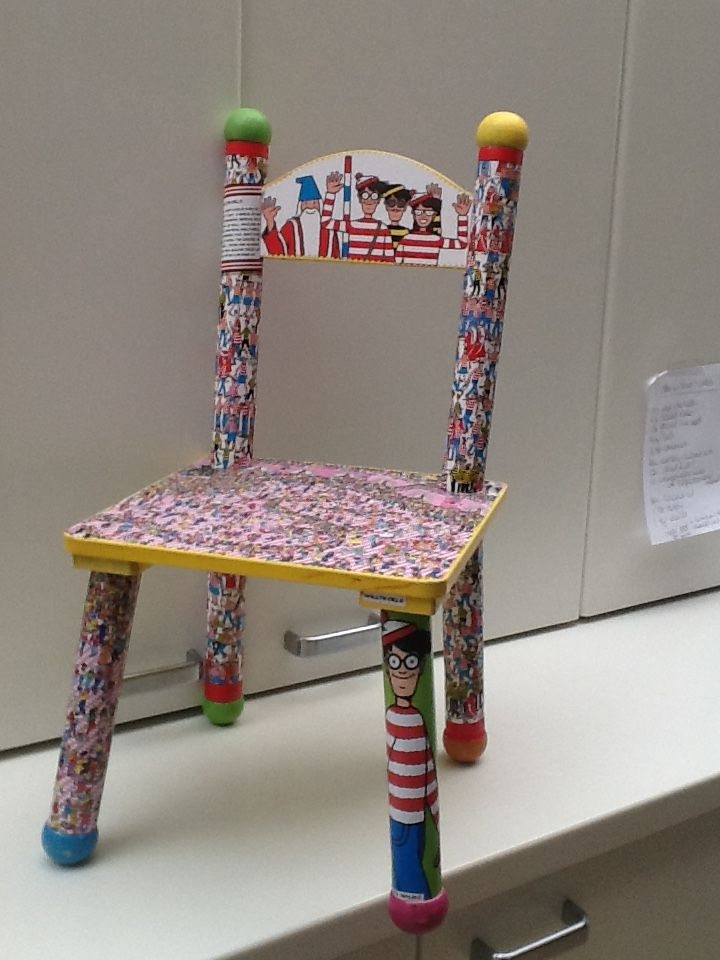 Where's Wally chair for The LABoratory Malvern
