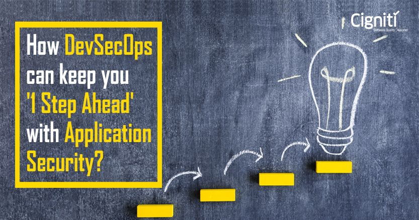 How DevSecOps can keep you '1 Step Ahead' with Application