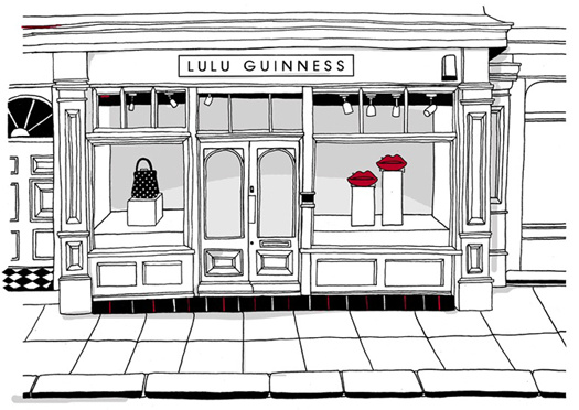 Line drawing french store front google search shop for Design on line outlet