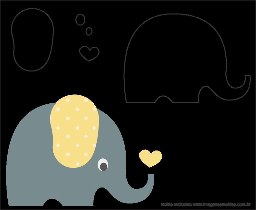 шаблоны слоник аппликация арабском