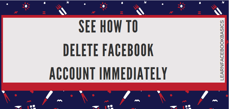 How to delete facebook account permanently immediately delete how to delete facebook account permanently immediately delete account link forever erase my facebook ccuart Gallery