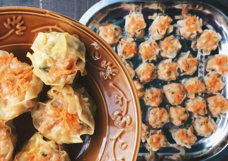 Resep Siomay Ayam Udang Ikan Halal Oleh Christine Triyana Djiono Resep Makanan Resep Adonan