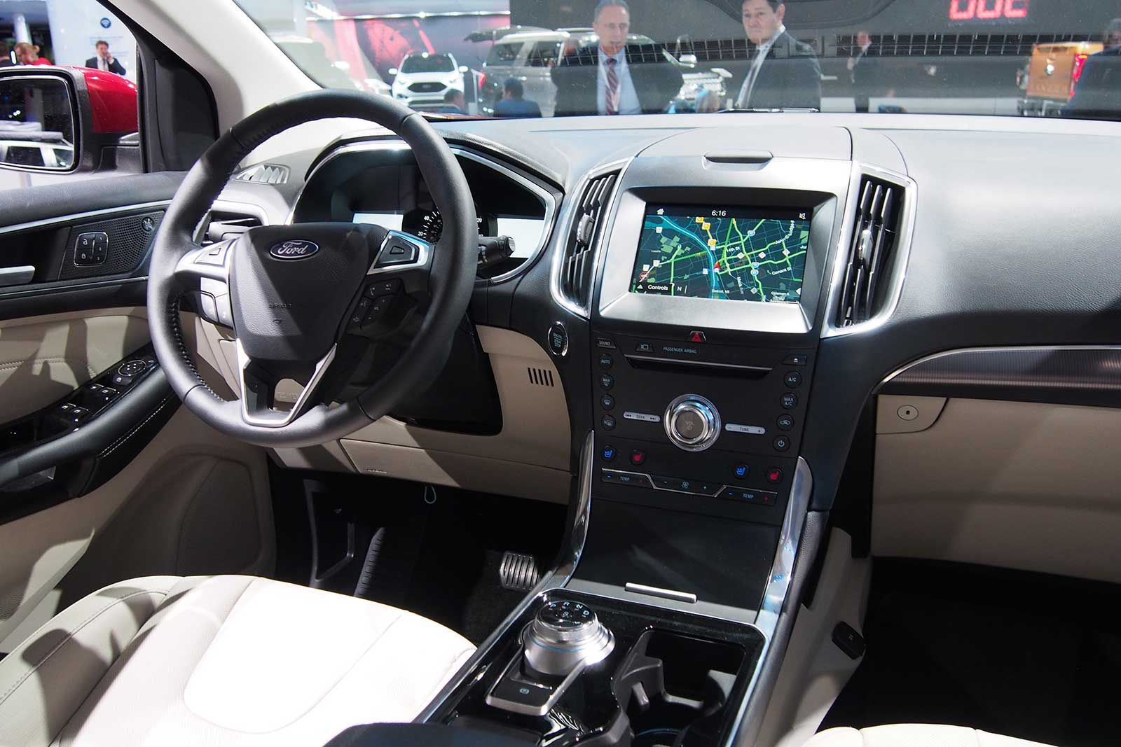 2019 ford edge interior ford edge 2019 ford