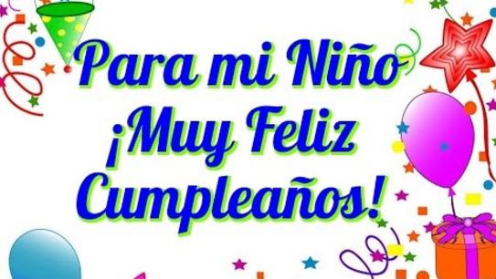 Frases Para Felicitar A Un Hijo Por Su Cumpleaños Feliz Cumpleaños Nieto Feliz Xumpleaños Canciones De Feliz Cumpleaños