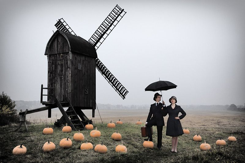 The Travellers Between Pumpkins by Ralph Graef on 500px