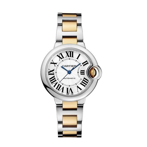 Cartier Ballon Bleu 33mm Watch Reis Nichols Jewelers Cartier