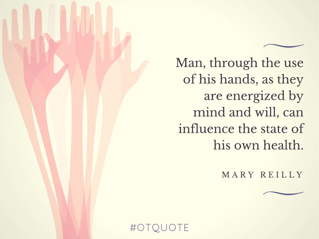 Occupational Therapy Quotes Gorgeous Aota On  Mary Occupational Therapy And Therapy