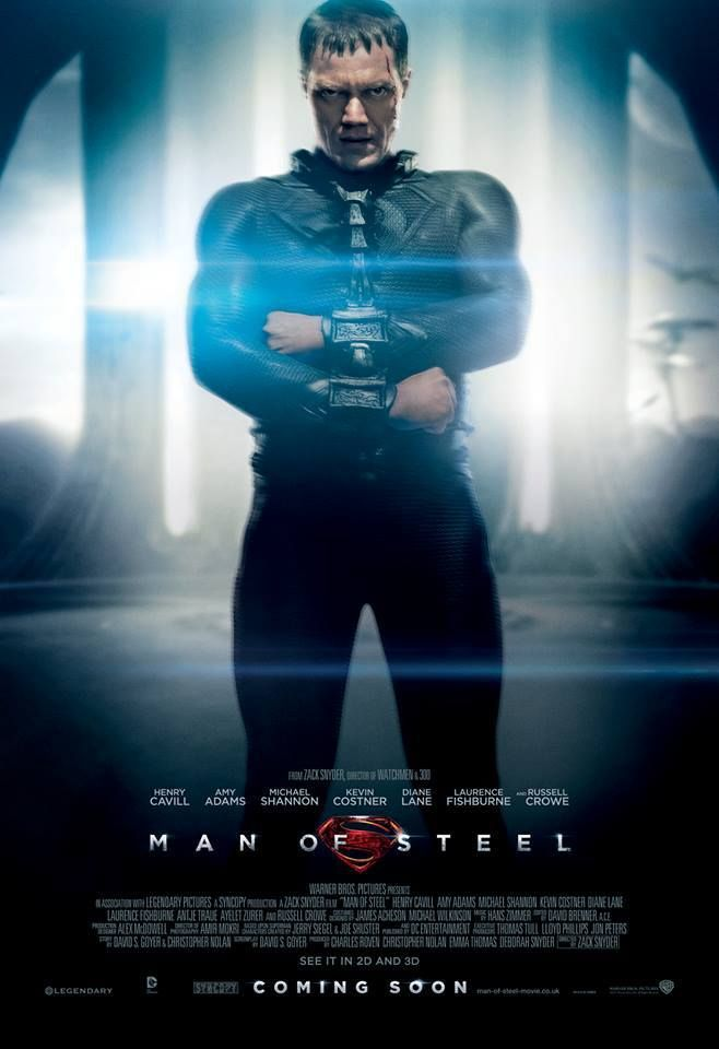 #MichaelShannon è il Generale Zod ne L'Uomo d'Acciaio, dal 20 Giugno al cinema! #ManofSteel #UomoAcciaio #luomodacciaio