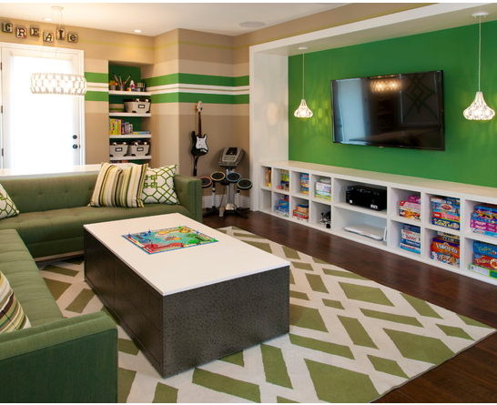 Like this for a family hang out room Game room kids